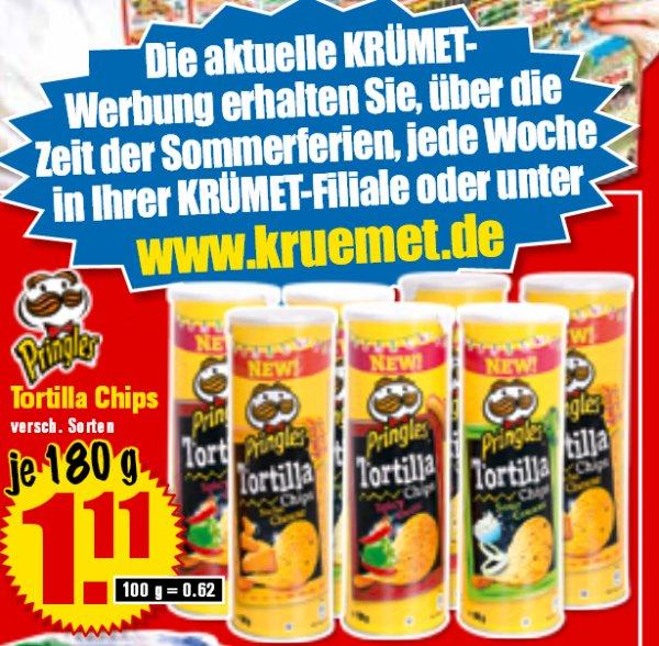[Krümet - Norddeutschland] Pringles Tortilla Chips ab 22.08 nur 1,11€