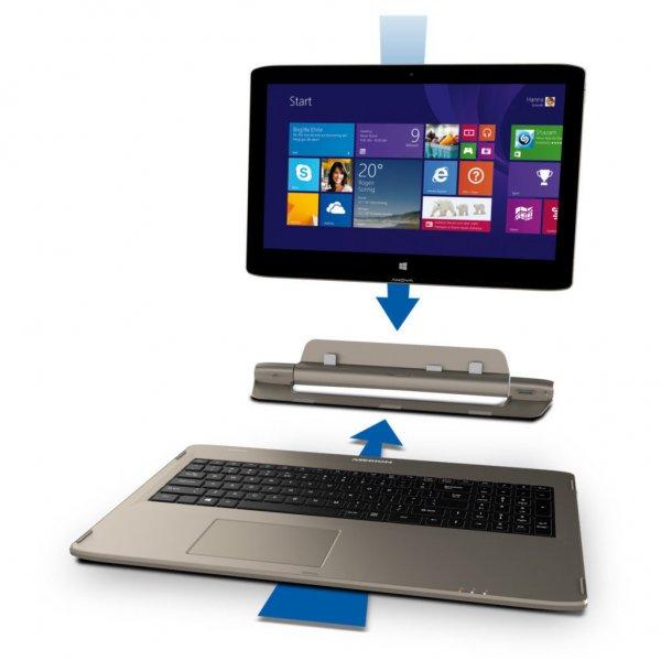 MEDION AKOYA S6214T 4-in-1 Touch Notebook / 269,10,- mit Gutschein !!!
