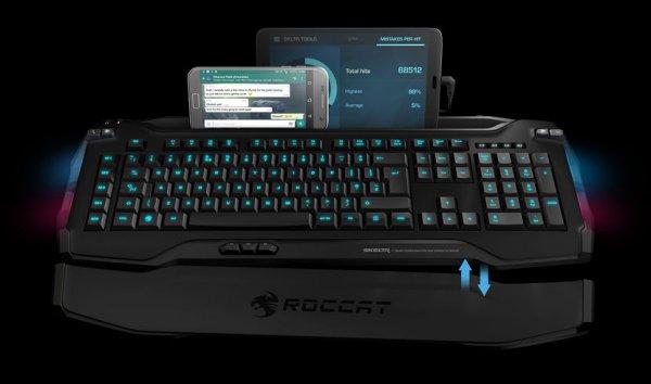 [Saturn] Die neue Roccat Skeltr Gaming Tastatur kaufen*vorbestellen* und ROCCAT Kone XTD – Max Customization, Maus, kabelgebunden, Schwarz + Roccat Sense Chrome Blue, Mauspad geschenkt dazu. Zusammen für 179,99€ bei Abholung