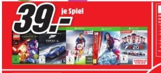 Xbox One Spiel F1 2016 MediaMarkt Heilbronn für 39,- EUR