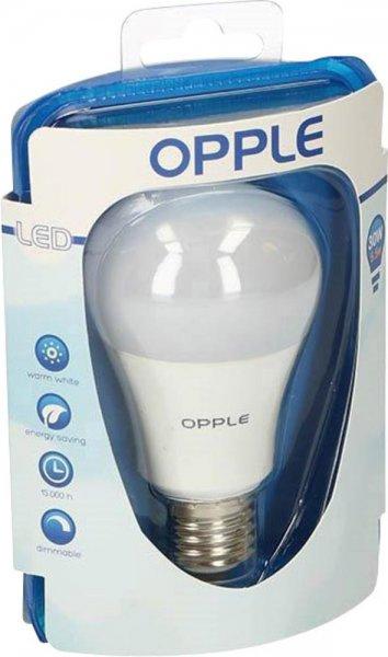 - Conrad - 5er Pack LED Opple E27 5.5 W = 30 W Warmweiß Dimmbar, Glühlampenform 9,99 inkl. Versand