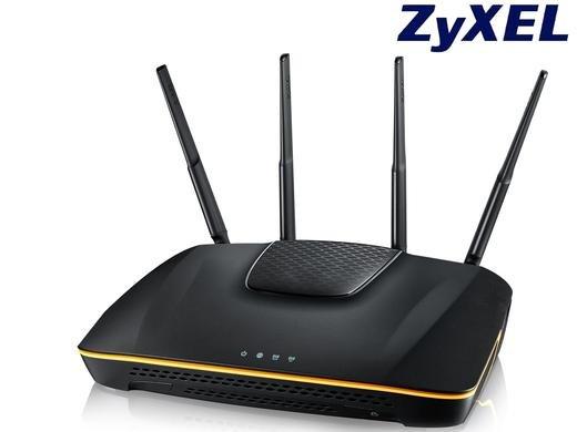 Zyxel Armor Z1 Wireless Dual Band Gigabit Router 600MPs (2,4 GHZ), 1,4 GHZ Dual Core Prozessor, 802.11 ac-Technologie für 105,90 Euro bei Ibood