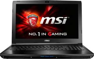 "MSI GL62 6QF - i7-6700HQ, GTX 960M, 8GB DDR4, 1TB HDD + M.2 NVMe-Slot, 15,6"" Full-HD matt - 799€ @ ebay/Notebook.de"