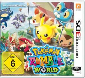 Nintendo 2DS/3DS - Pokémon Rumble World ab €19,60 [@Redcoon.de]