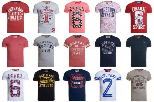Ebay - Superdry T-Shirts Versch. Modelle und Farben 3