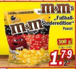 [ZIMMERMANN] M&M's Peanut 300g - 1,79€