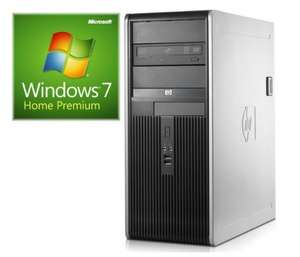 HP DC7900 Tower 3.0 GHZ Core2Duo, 4 GB RAM, Businessgerät incl. Win7
