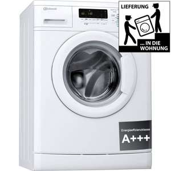 BAUKNECHT WA 744 BW Waschmaschine Frontlader A+++ 1400 UpM 7 kg 59/77dB(A) @Ebay 339€