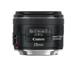 Canon EF 28mm f 2.8 IS USM Weitwinkel EF-Objektiv (58mm Filtergewinde) (amazon.es)