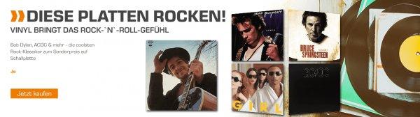 (Saturn.de) Rock ´n´ Roll Aktion u.a. AD/DC, The Script.,...  Vinyl / Schallplatte je 12,99€ (oder 3 für 34€)