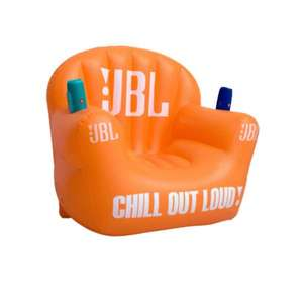 JBL Aufblasbarer Stuhl Orange/Weiß !!! VKF