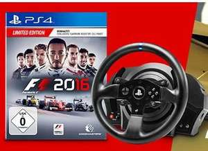 [Mediamarkt] F1 2016 (Limited Edition) [PlayStation 4] + THRUSTMASTER Lenkrad TM T300 RS Racing Wheel für  264,99€ bei Abholung