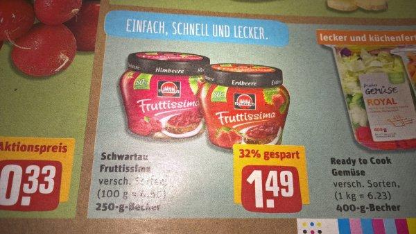 [REWE - bw.?] Frutissima - Brotaufstrich dank Coupon zum Bestpreis