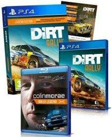 "[Netgames] Dirt Rally Legend Edition inkl. Blu-ray ""Colin McRae - Rally Legend"" & Mini Pack DLC (PS4) (EU Import) enth. deutsche Sprachausgabe"