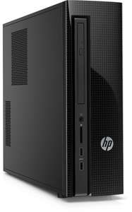 HP Slimline 410-100ng Desktop-PC (Intel Core I3 4170, 4GB RAM, 1TB HDD, AMD Radeon R5 330 (2GB Ram), HDMI, PCIe x1, PCIe x16, MiniCard, 2x USB 3.0, 6-in-1-Speicherkartenlesegerät, DVD-Brenner, Windows 10) + Maus und Tastatur schwarz für 349€ @Amazon.