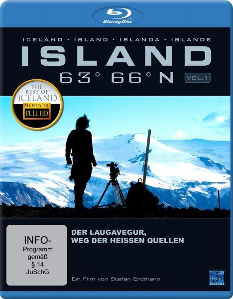 [Amazon WHD (wie neu) & Prime]  Island 63° 66° N - Der Laugavegur: Der Weg der heißen Quellen [Blu-ray]  (37x)