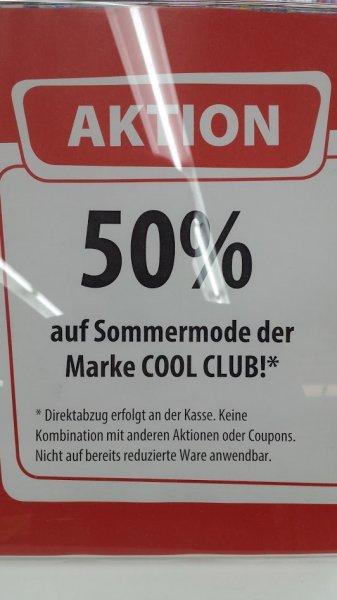 Mode der Marke COOL CLUB 50% Spiele Max