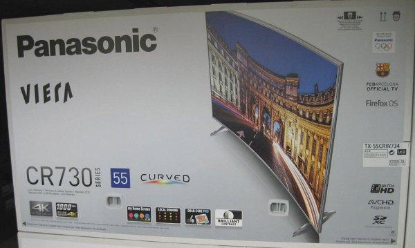 Panasonic  TX-55 CRW 734 LED Ultra HD Curved Smart-TV 1000Hz. Neu OVP EBAY
