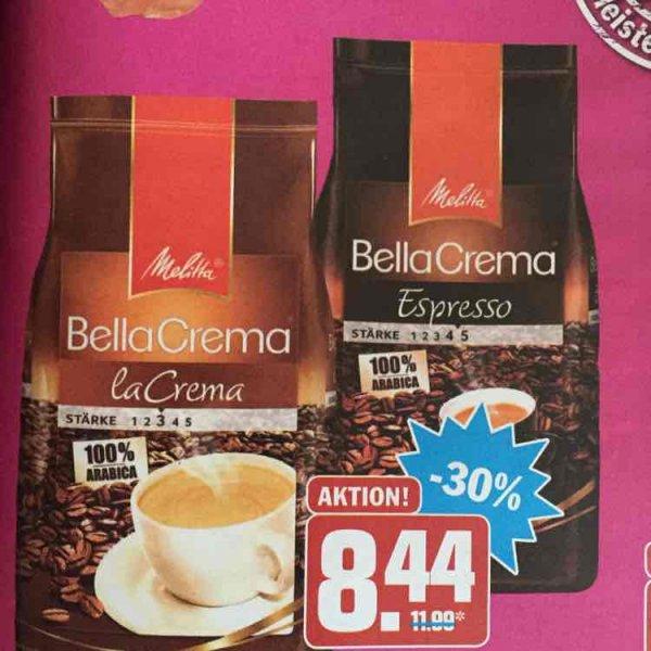 [HIT Bundesweit] Melitta Bella Crema mit Coupon für 5,94€