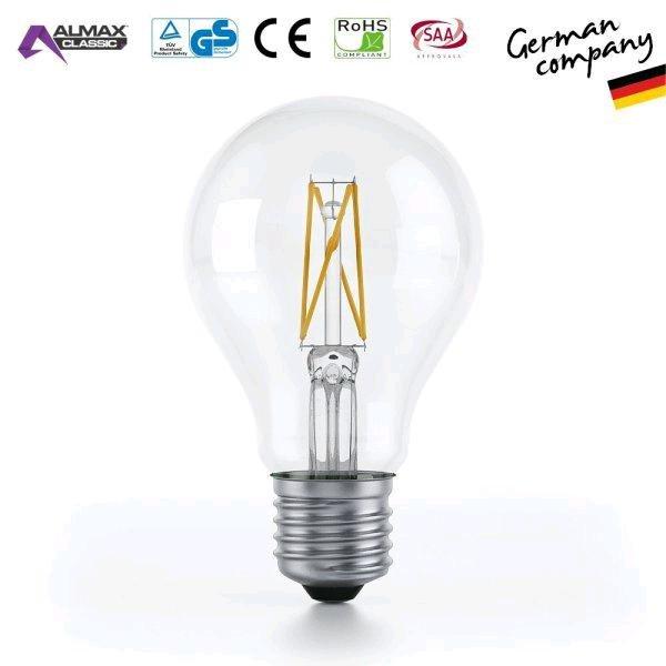 [amazon marketpl] 4 Stück gute E27 LED Filament 6W (Einzelpr. 2,49€, ohne VSK ab 30€)