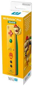 WiiU Remote Plus Bowser / Toad Edition
