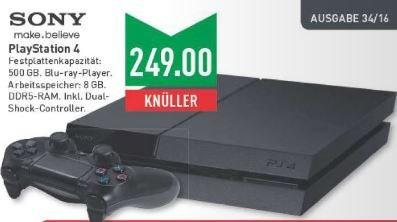 [Marktkauf NRW (?)] PS4 500GB + Controller 249€, am Montag, den 22.8.2016 (oder die ganze Woche?)