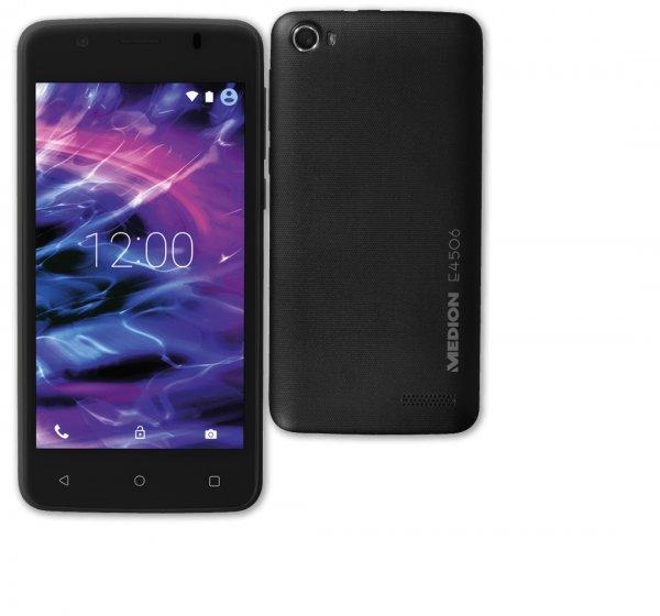 MEDION LIFE E4506 (MD 99478) Android ™ 5.1 Dual Sim Smartphone 8 GB Speicher für 40€ > [penny] > Offline ab Donnerstag den 25.08