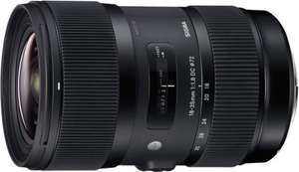 Sigma Objektiv Art AF 18-35mm 1.8 DC HSM IF für viele Mounts gebraucht anstelle von 600€++