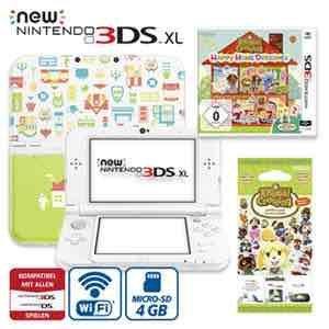 [real online und offline] New Nintendo 3DS XL inkl. Animal Crossing, Happy Home Designer 169€