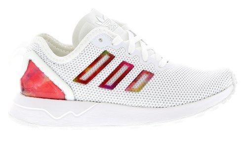 """Adidas Zx Flux Adv """"Splash"""" Gr. 28,5 bis 38 2/3 weiss/rot @Footlocker"""