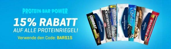15% auf Proteinriegel bei Body & Fit z. B. 12 Questbars für 16,92€ / 1 Riegel 1,41€