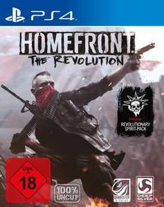 [amazon.de] Homefront: The Revolution Day1-Edition inkl. Revolutionary Spirit-Pack (PS4 + Xbox One) für 22,65 €