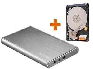 """[eBay/Gravis] 500 GB 6,35 cm (2,5"""") Festplatte im Networx Aluminiumgehäuse"""