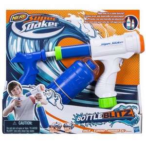 Hasbro Super Soaker B4445EU4 - Bottle Blitz 2.0, Wasserpistole @ Amazon Prime
