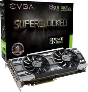 EVGA Nvidia GeForce GTX1080 SC Gaming ACX 3.0 8 GB GDDR5X-RAM