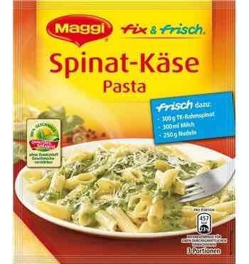 [E-Center Bad Oeynhausen] Gratis Maggi Fix Spinat Käse Pasta (Reduzierung+Coupon)