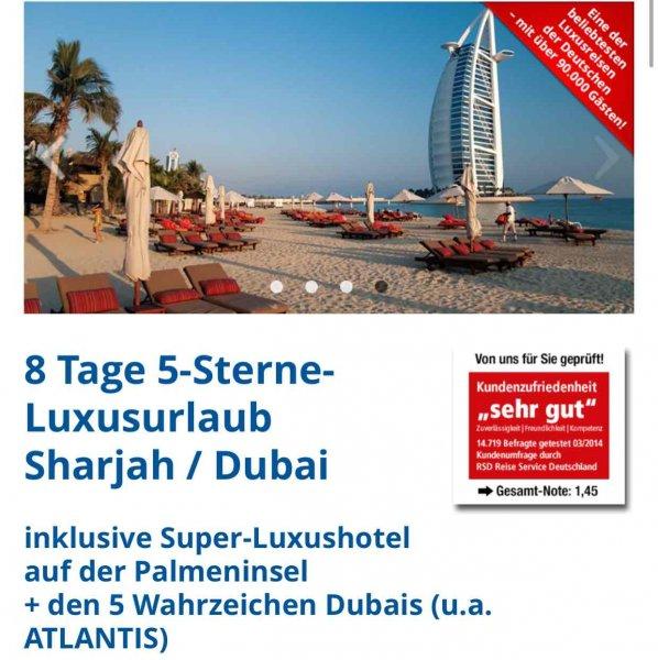8 Tage Dubai (inkl. Flug und 5* Hotel mit Frühstück)