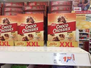 #Real Filderstadt # 4x 75g Choco Crossies XXL Pack