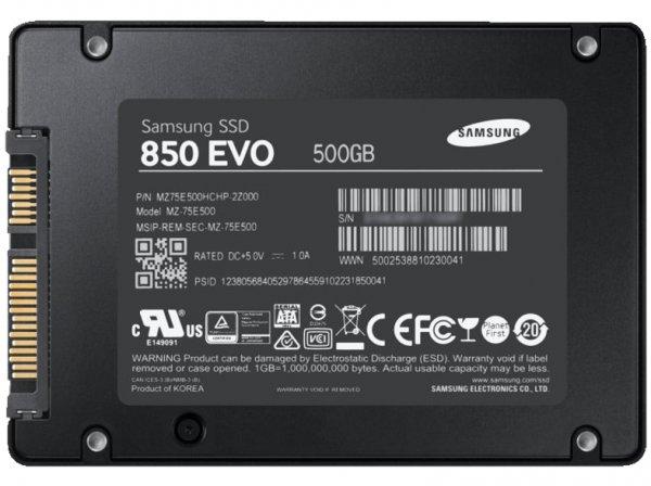 Samsung SSD 850 Evo Starter Kit 500GB [Amazon]