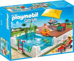 [Amazon Prime] PLAYMOBIL 5575 - City Life: Einbau-Swimmingpool 14,97€