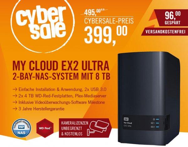 My Cloud EX2 Ultra NAS System 2-Bay 8TB @Cyberport Cyber Deal