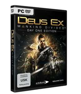 Deus Ex: Mankind Divided Day One Edition (PC) @Gamesdeal