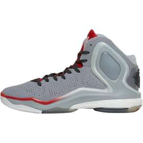 (MandM) adidas Herren D 5 Boost Home Basketball Onix Sneakers Grau für  €45,95