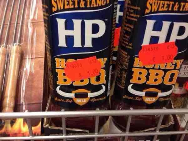 HP Honey BBQ Sauce im KIK Unna ( dank Info im Kommentar wohl nicht nur Lokal )