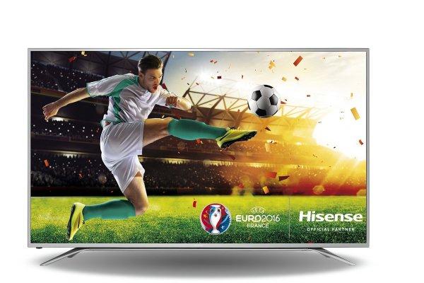 [Amazon] Hisense H65MEC5550 65 Zoll Fernseher (Ultra HD, Triple Tuner, DVB-T2 HD, Smart TV)