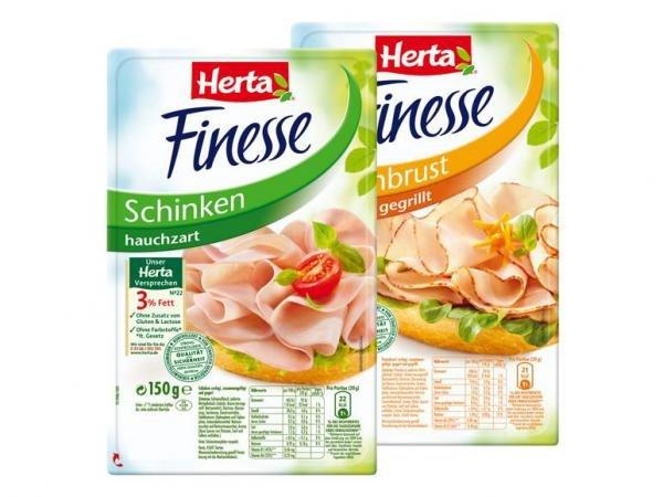 3 Packungen Herta Finesse 100g (300g) für 1€ (=0,33€/100g) @Wiglo