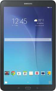 "[Metro] Samsung Galaxy Tab E 9.6 WiFi T560 Tablet weiß/schwarz, 9,6"" HD Display, 1,5GB RAM, 8GB Flash, Android 5.1"