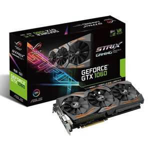 Asus ROG Strix GeForce GTX1060-6G Amazon!