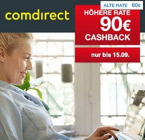 [Shoop ehemals Qipu] Comdirect Depot mit 90€ Cashback