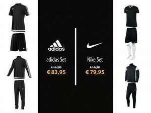 Nike oder Adidas Trainingsset 5-teilig!